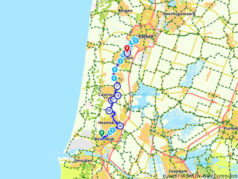 Van Beverwijk naar Heiloo Westerweg 25.3