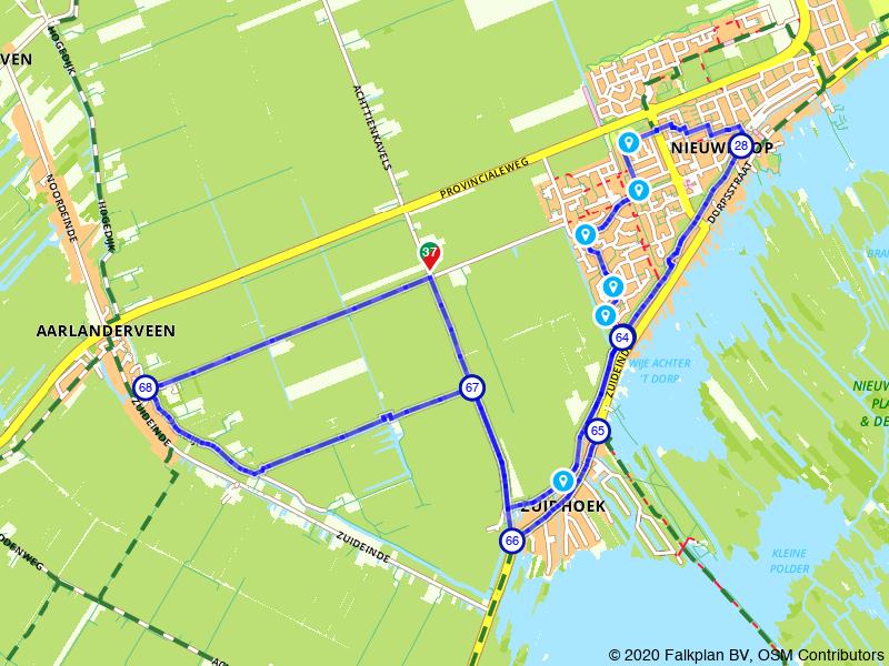 Achtje wandelen rondom Nieuwkoop