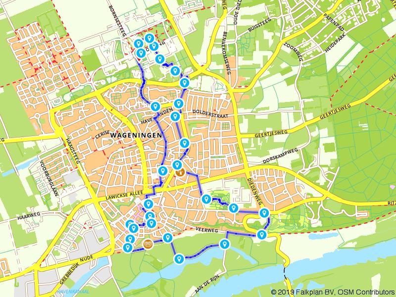 Stadswandeling door Wageningen