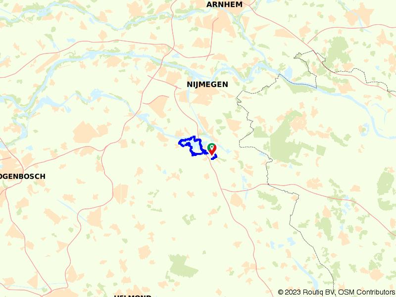 Rondje fietsen om de Kraaijenbergse Plassen