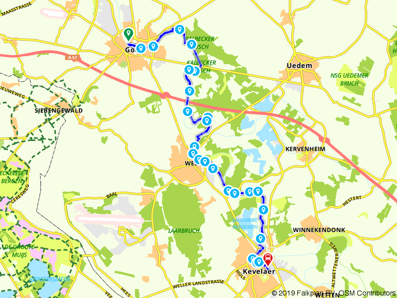 Maas-Niederrheinpad etappe 08
