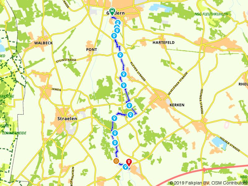Maas-Niederrheinpad etappe 10
