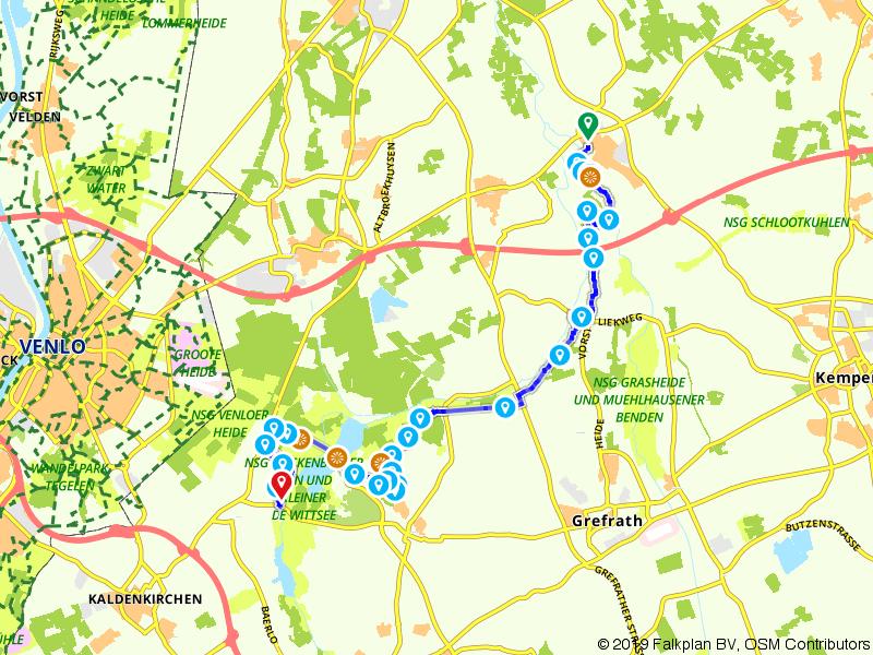 Maas-Niederrheinpad etappe 11
