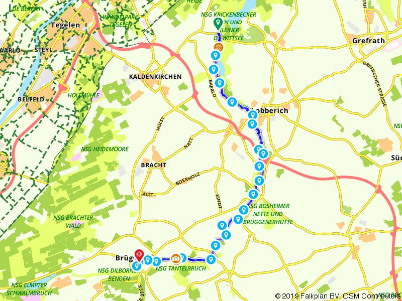 Maas-Niederrheinpad etappe 12