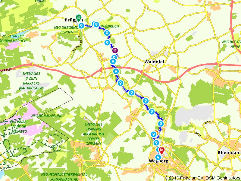 Maas-Niederrheinpad etappe 13