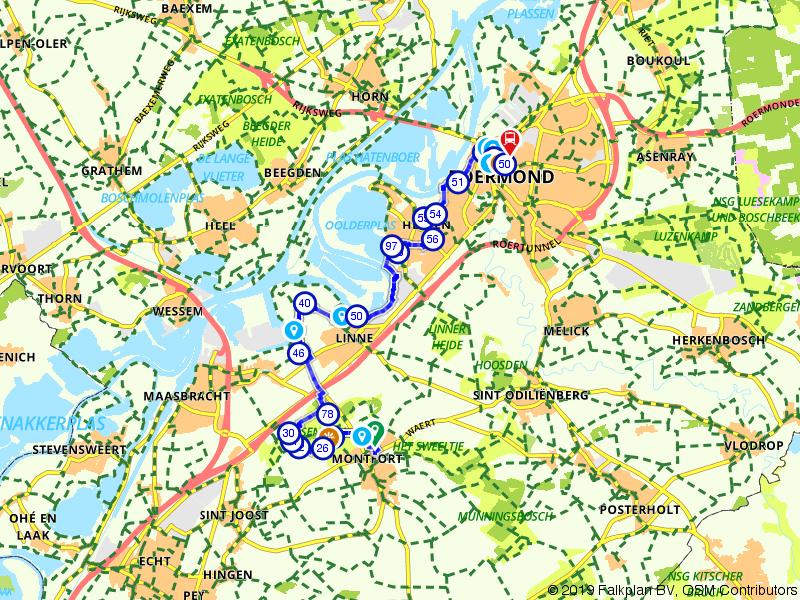 Maas-Niederrheinpad etappe 17