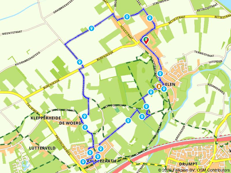 Wandelrondje Kerk-Avezaath en Landgoed Soelen