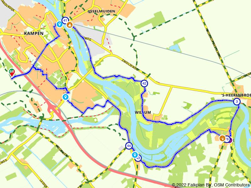 Een rondje fietsen langs de IJssel