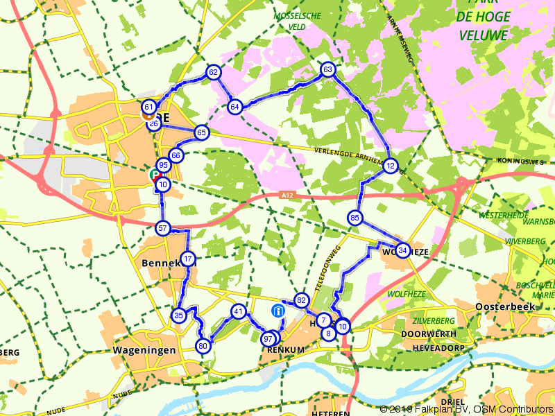 Bossen en heide van de zuidwestelijke Veluwe