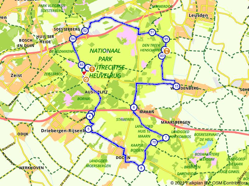 Rondje Utrechtse Heuvelrug