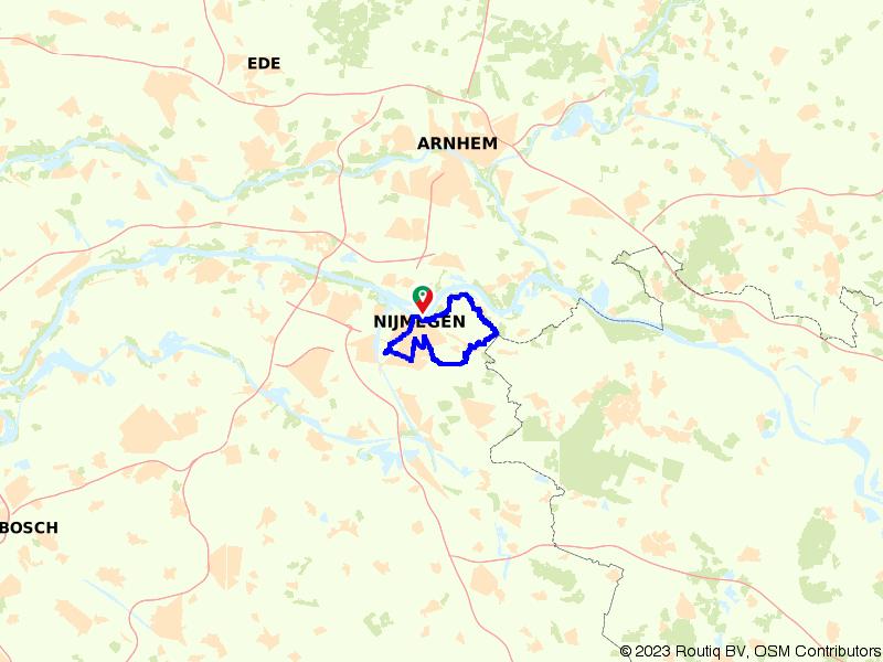 Dagje uit in Nijmegen en de Ooijpolder
