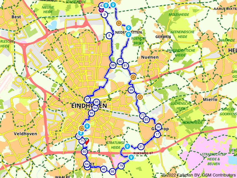 Rondje Eindhoven vanuit Stratum