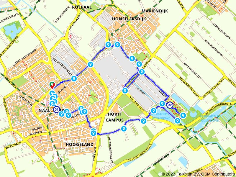 Wandelroute Naaldwijk en Heilig Geesthofje