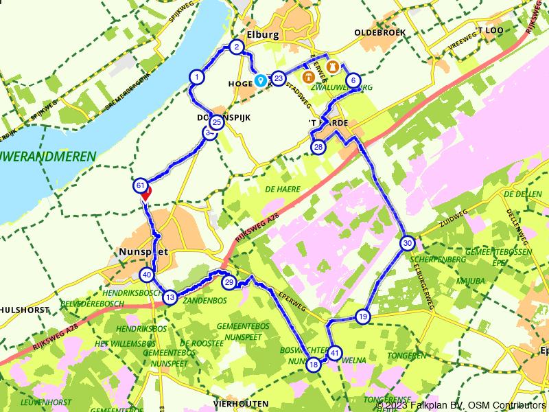 Landgoederenroute door de Doornspijkse Heide (Veluwe)