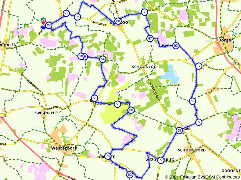 Sleenerzand, Orvelte en Witteveen