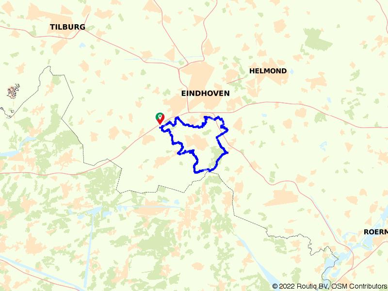 Brabantse natuur rond Sint Janskapel en Heimolen