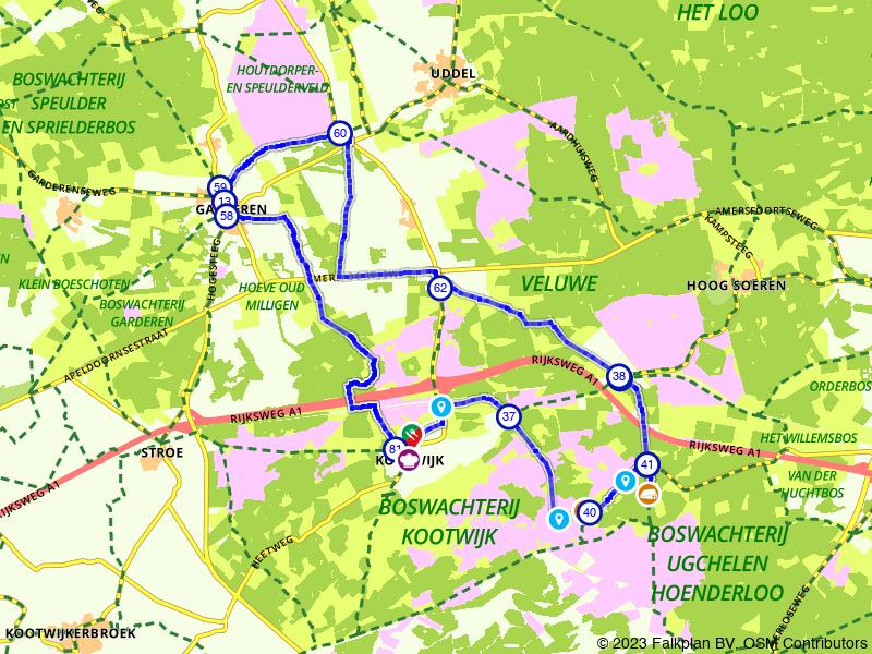 Op pad door het Kootwijkerzand en het Houtdorperveld