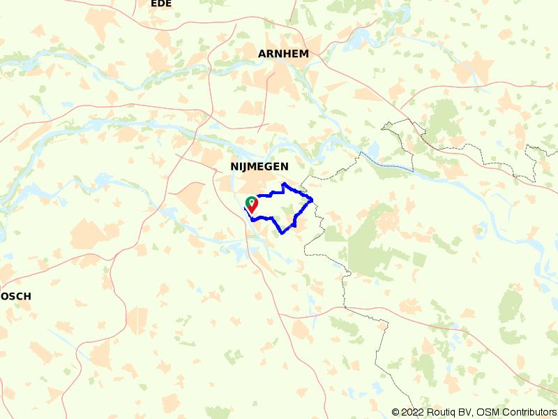 Het groene hart van Nijmegen