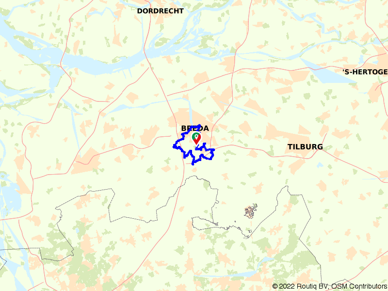 Een rondje door de oude bossen bij Breda