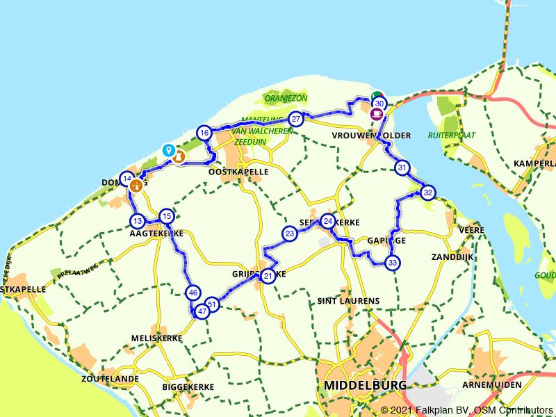 Grijpskerke, Domburg en Breezand