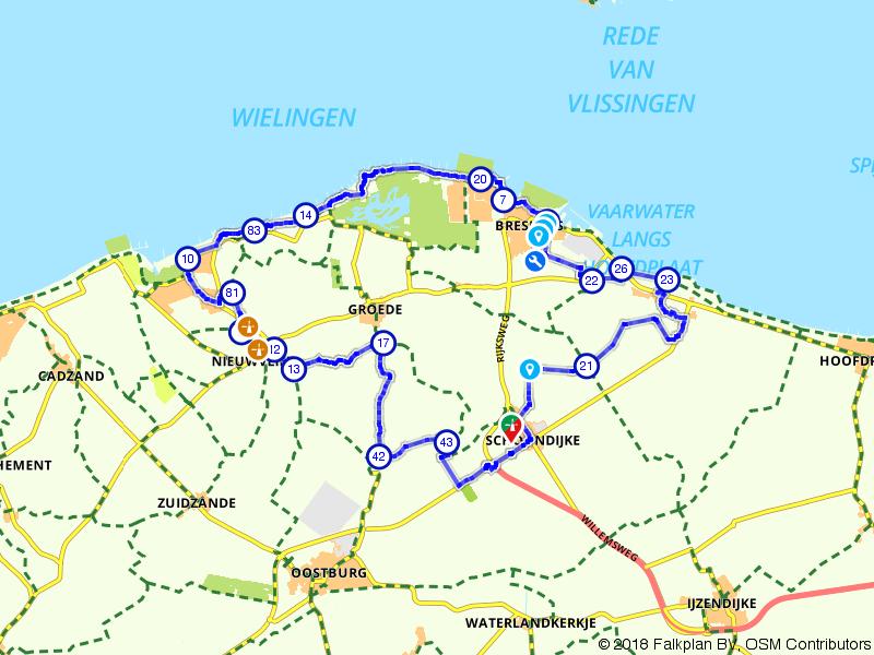 Langs de kust en Zeeuws-Vlaamse molens