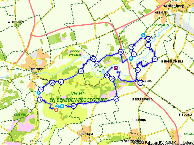Door Vechtdal van Ommen naar Hardenberg