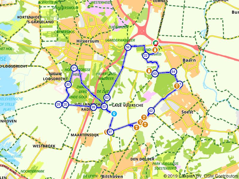 Koninklijke fietstocht over de Utrechtse Heuvelrug