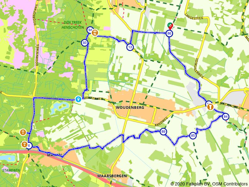 Fietsroute Gelderse Vallei en Utrechtse Heuvelrug