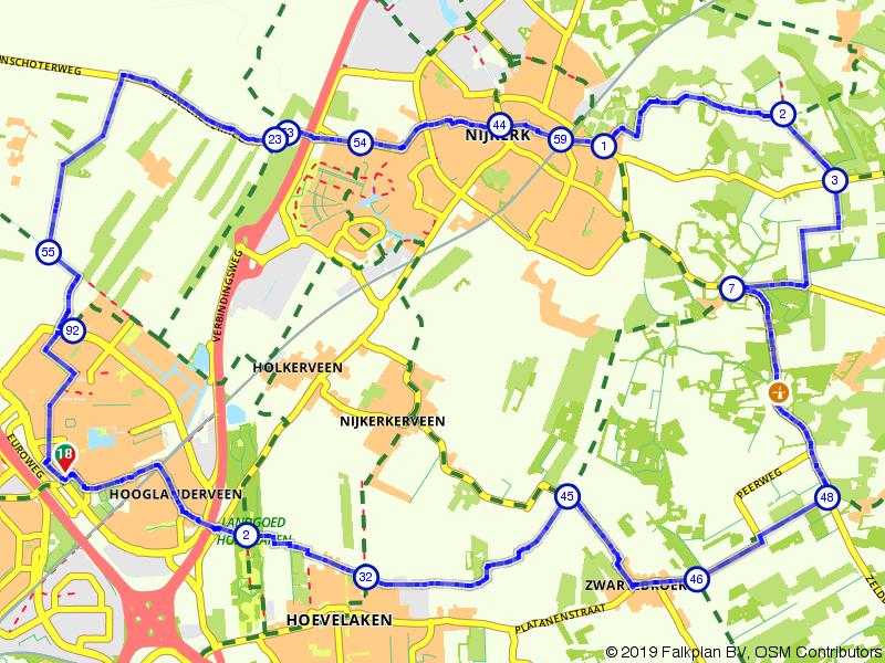 Amersfoort, Driedorp en Nijkerk