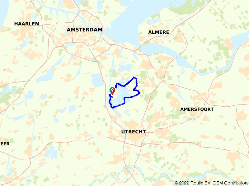 Loenen aan de Vecht, Hilversum en Ankeveen