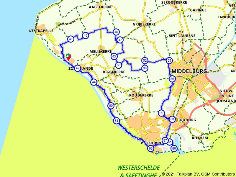 Zoutelande, Vlissingen en Middelburg