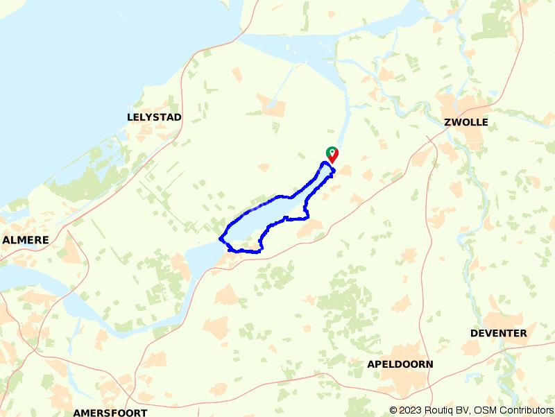 Harderwijk en Elburg, langs het Veluwemeer