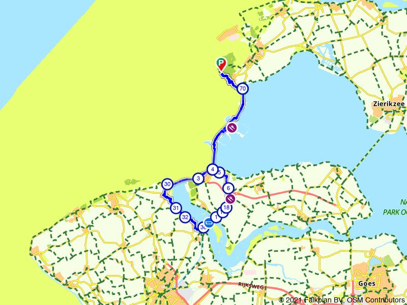 Burgh-Haamstede, Vrouwepolder en Kamperland