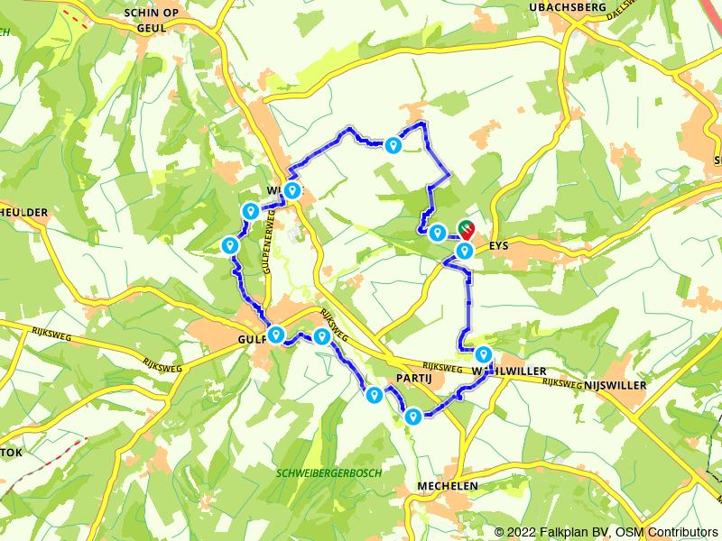 Wandelen vanaf Eys door glooiend Limburg