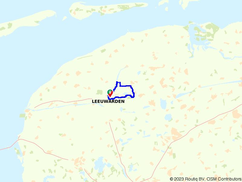 Fietsen door Leeuwarden, Tytsjerk en Wyns