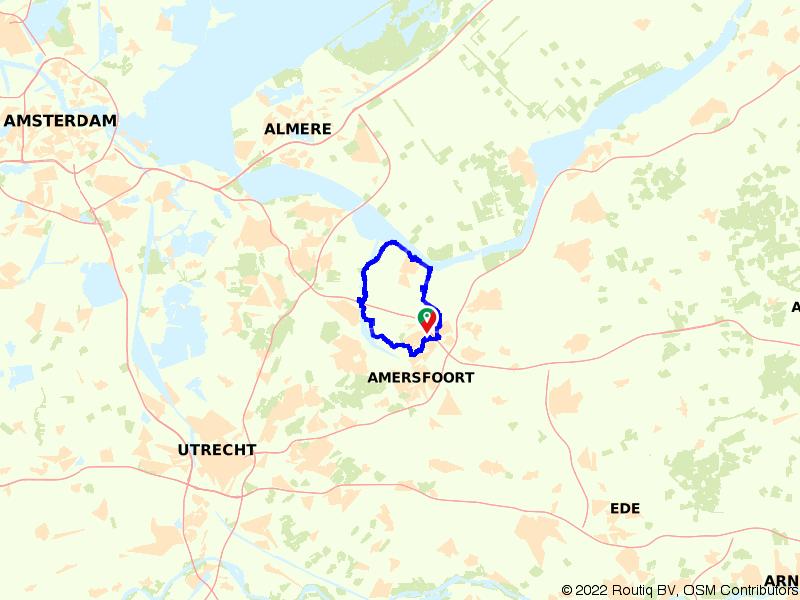 Amersfoort, Baarn en Bunschoten-Spakenburg
