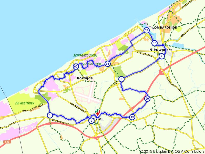 Veurne, Nieuwpoort en Koksijde