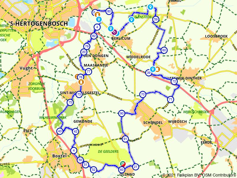 Kastelenpracht tussen Den Bosch en Liempde