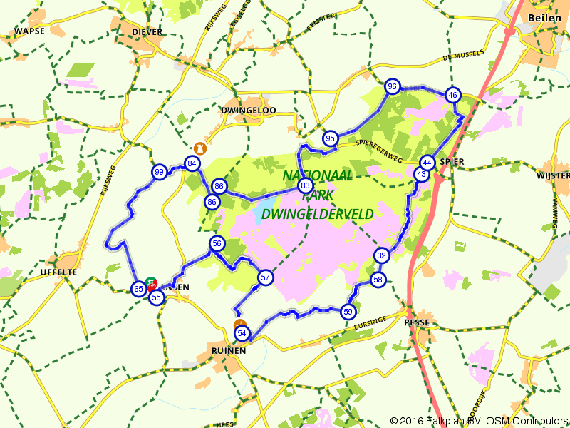 Ansen door het nationaal park Dwingelderveld