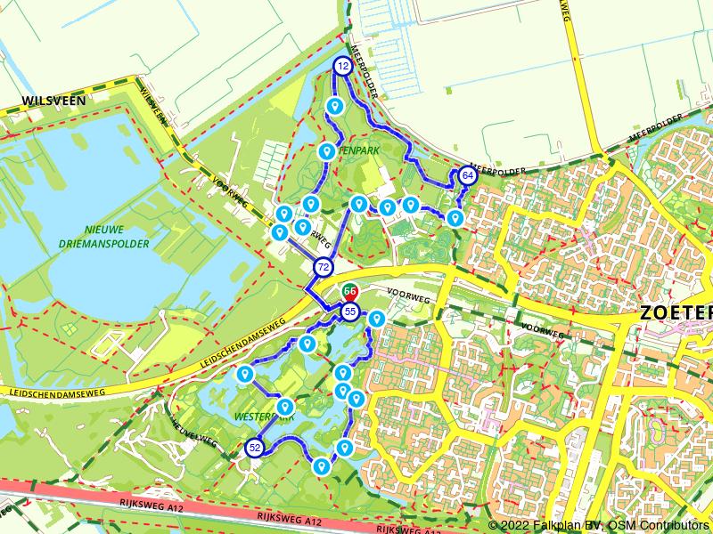 Wandelen door het Westerpark en Buytenpark