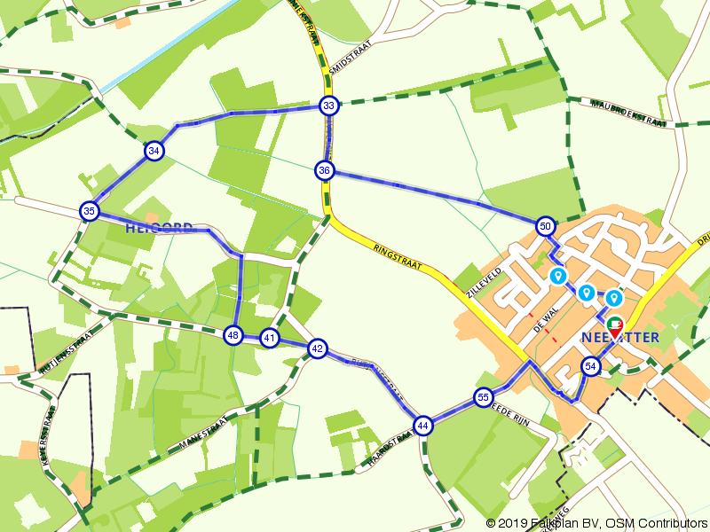 Korte wandeling vanuit Neeritter