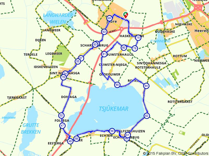 Joure, Sint Nicolaasga en Delfstrahuizen