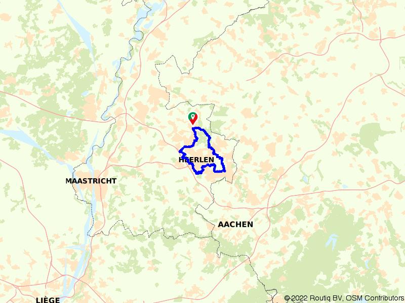 Brunssum, Kerkrade en Heerlen