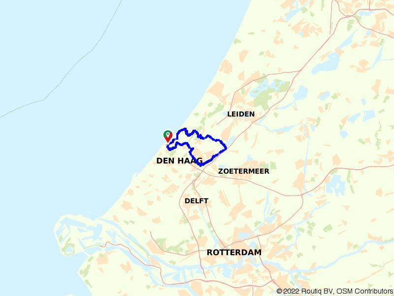 Scheveningen, Den Haag en Leidschendam