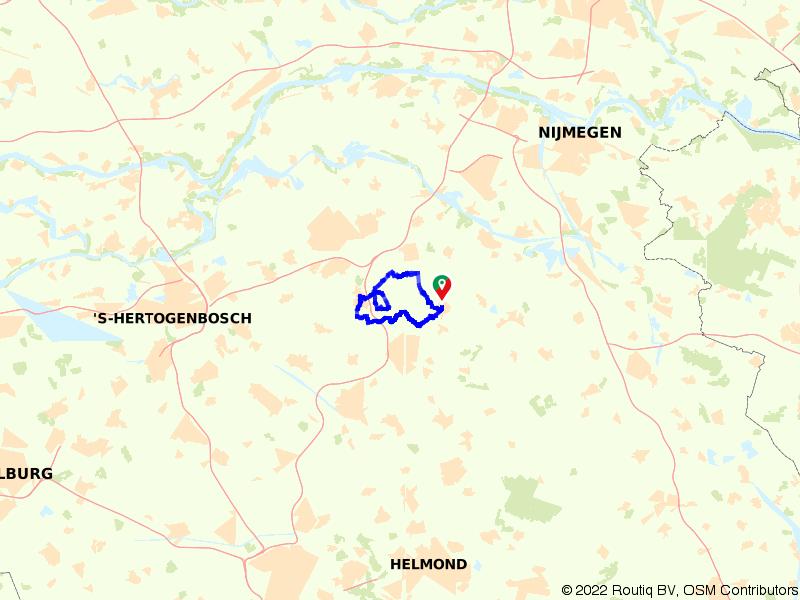 Rondje Hilvarenbeek, Poppel en Middelbeers