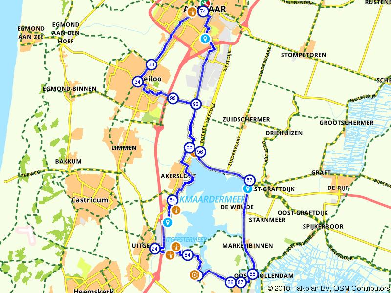 Alkmaar, Krommenie en Heiloo