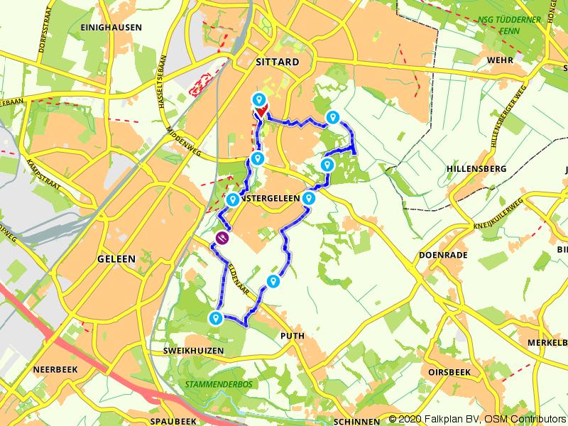 Lekkerbekkenroute van Sittard naar Sweikhuizen