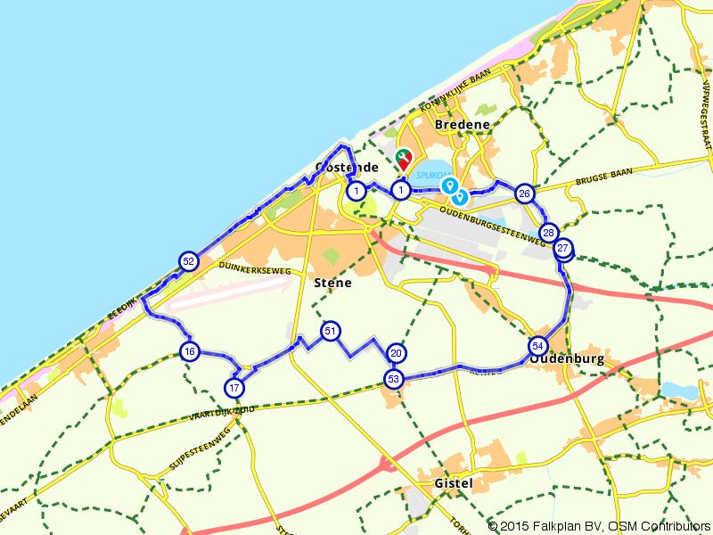Oostende, Leffinge en Oudenburg