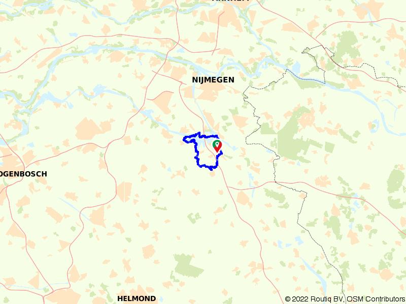 Rondje langs Beers en Cuijk en Kraaijenbergse Plassen