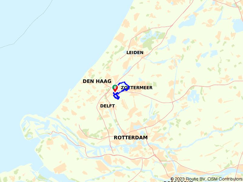 Rondje Nootdorp, Zoetermeer en Dobbeplas
